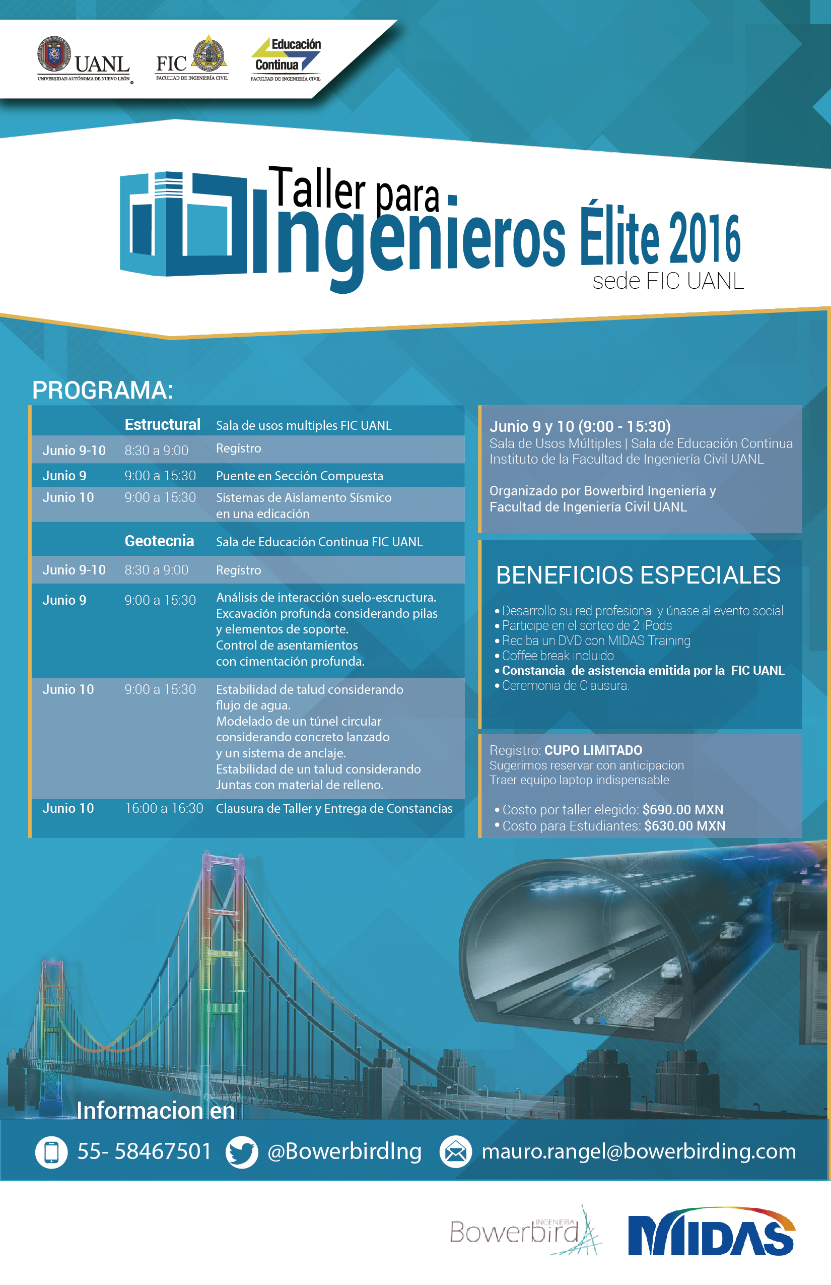 Taller par aInges Elite 4-02